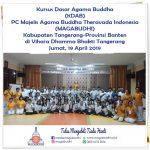 Kaum Muda Buddhis Tangerang dengan Antausias mengikuti Kursus Dasar Agama Buddha