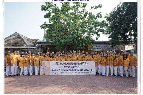 PD MAGABUDHI Banten Sukses mengadakan Workshop Tata Cara Memimpin Upacara